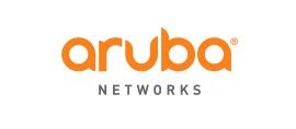 Aruba Networks logo.