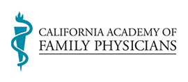 California Academy of Family Physicians logo.