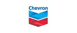 Chevron logo.