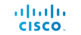 Cisco logo.