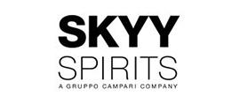 Skyy Spirits logo.